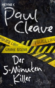Buch Cover Paul Cleave Fuenf Minuten Killer